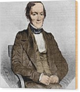 Richard Owen, English Paleontologist Wood Print by Science Source
