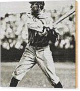 Ty Cobb (1886-1961) Wood Print by Granger