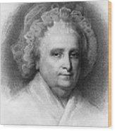 Martha Washington, American Patriot Wood Print by Photo Researchers