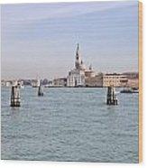 Venice Wood Print by Joana Kruse