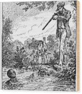 Frederick Douglass Wood Print by Granger
