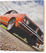65 Chevrolet Acadian Wood Print by Phil 'motography' Clark