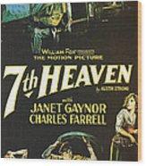 7th Heaven Wood Print by Georgia Fowler