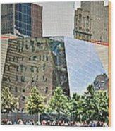 9/11 Memorial Wood Print by Gwyn Newcombe