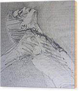 A Breath Wood Print by Hitomi Osanai