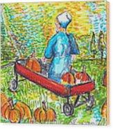 A Child's Joy  Wood Print by Jon Baldwin  Art