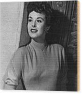 A Man Called Peter, Jean Peters, 1955 Wood Print by Everett
