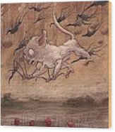 A Slip In The Loch         Wood Print by Ethan Harris