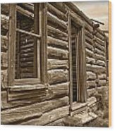 Abandoned Wood Print by Shane Bechler