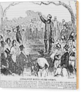 Abolition: Phillips, 1851 Wood Print by Granger