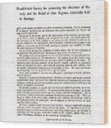 Abolitionist Address By Benjamin Wood Print by Everett