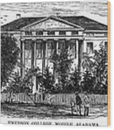 Alabama: Emerson College Wood Print by Granger
