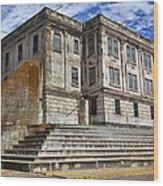 Alcatraz Cellhouse  Wood Print by Garry Gay