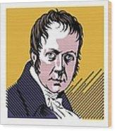 Alexander Von Humboldt, German Naturalist Wood Print by Smetek