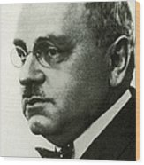 Alfred Adler, Austrian Psychologist Wood Print by Science Source