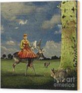 Alice Wood Print by Martine Roch