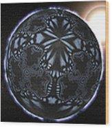 Alien Patterns On A Neutron Star, Artwork Wood Print by Christian Darkin