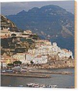 Amalfi Wood Print by Bill Cannon