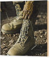 An Air Force Basic Military Training Wood Print by Stocktrek Images