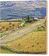 Andalusia Countryside Panorama Wood Print by Artur Bogacki