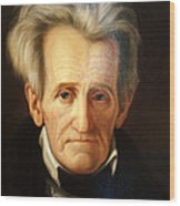 Andrew Jackson, 7th American President Wood Print by Photo Researchers