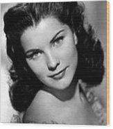 Anne Of The Indies, Debra Paget, 1951 Wood Print by Everett