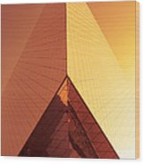 Architecture 3001 Wood Print by Falko Follert