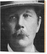Arthur Conan Doyle, Scottish Author Wood Print by Science Source