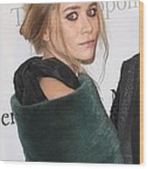 Ashley Olsen At Arrivals For The Wood Print by Everett
