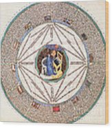 Astrologer In The Zodiac Wood Print by Science Source