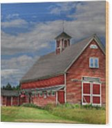 Atco Farms - 1920 Wood Print by Lori Deiter