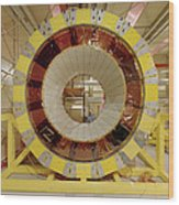 Atlas Detector Module Wood Print by David Parker