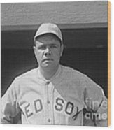 Babe Ruth 1919 Wood Print by Padre Art