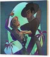 Baile De Amor Wood Print by Nelson Dedos Garcia