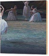 Ballerinas At The Vaganova Academy Wood Print by Richard Nowitz