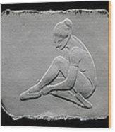 Ballet Dancer Wood Print by Suhas Tavkar