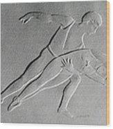 Ballet Dancers Wood Print by Suhas Tavkar