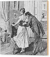 Balzac: Cousin Bette Wood Print by Granger