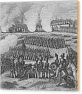 Battle Of Chapultepec Wood Print by Granger