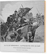 Battle Of Churubusco, 1847 Wood Print by Granger