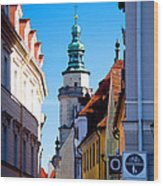 Bavarian Corridor  Wood Print by Anthony Citro