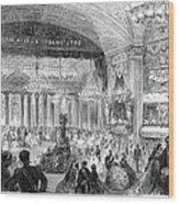 Beaux Arts Ball, 1861 Wood Print by Granger