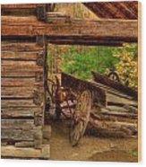 Better Days Wood Print by Charles Warren