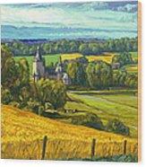Beusdael Castle Sippenaeken Wood Print by Nop Briex