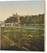 Beziers - France Wood Print by International  Images