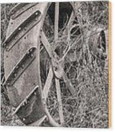 Big Iron Wood Print by JC Findley