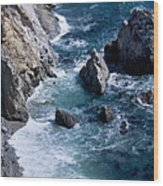 Big Sur Wood Print by Anthony Citro