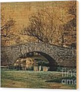 Bridge From The Past Wood Print by Nishanth Gopinathan