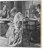 BrontË Sisters Wood Print by Granger