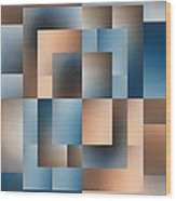 Brushed 14 Wood Print by Tim Allen